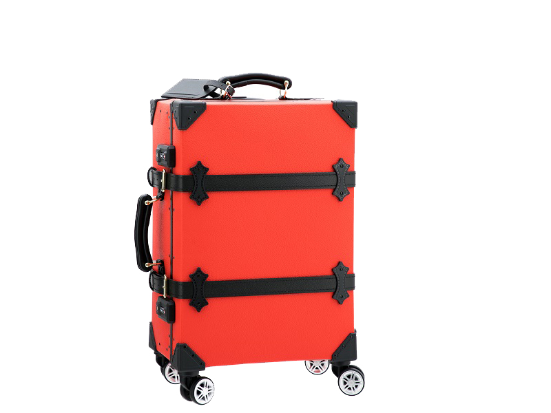 VINTAGE SUITCASES-Red